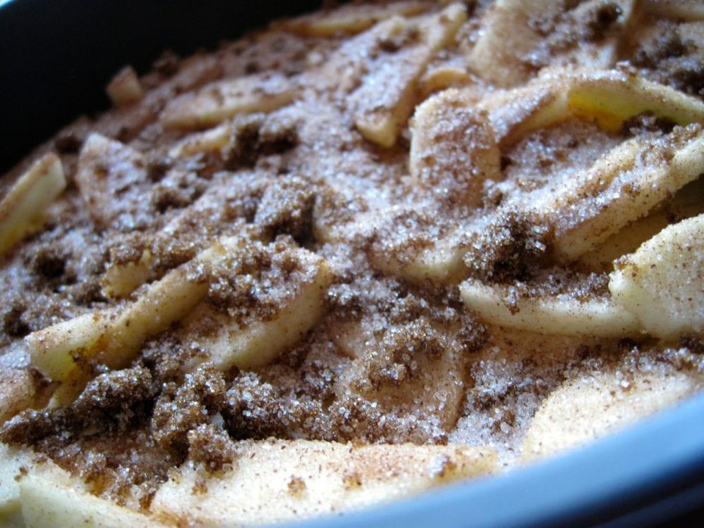 æblekage, opskrift, brun farin