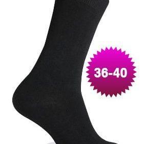 sorte sokker, black,