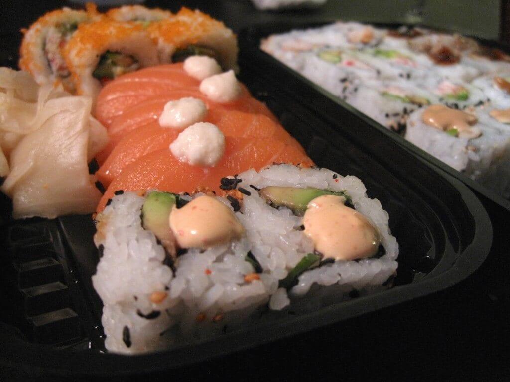 sushi, sushimania, velbekomme