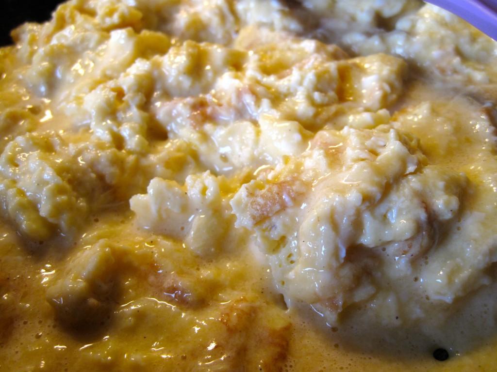 opskrift, scrambled egg, eggs, æg, morgenmad