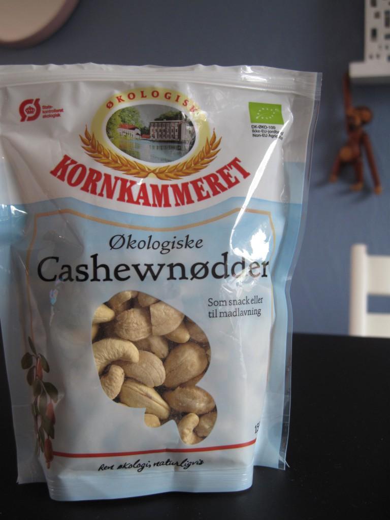 nødder, cashew, saltede, ristede, opskrift, opskrifter, cashewnødder