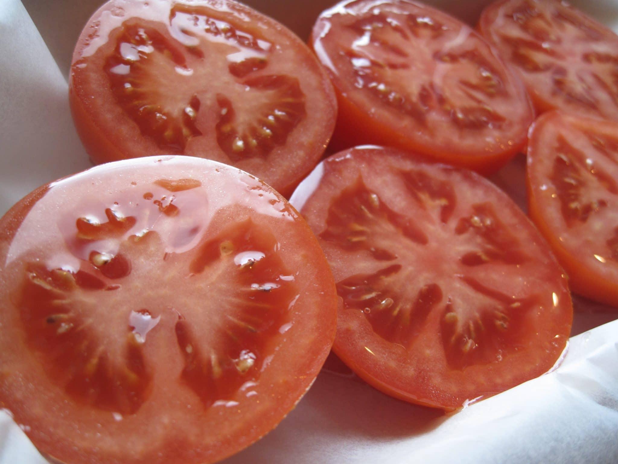 tomater, ovnbagt, nemt, lækkert, opskrift, sundt