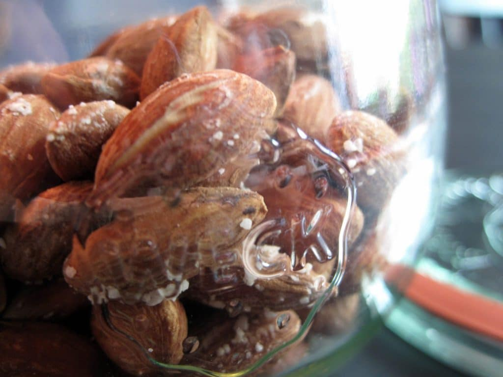 salte, mandler, lakrids, lækkert, sundt, nemt