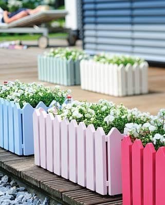Hyggestemning på min terrasse - Willowlounge.dk