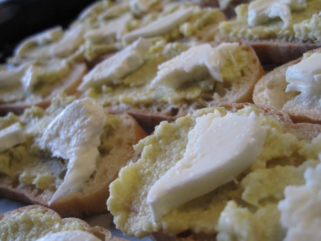 ciabattabrød, brød, opskrift, artiskok, artiskokmos, sundt, sund