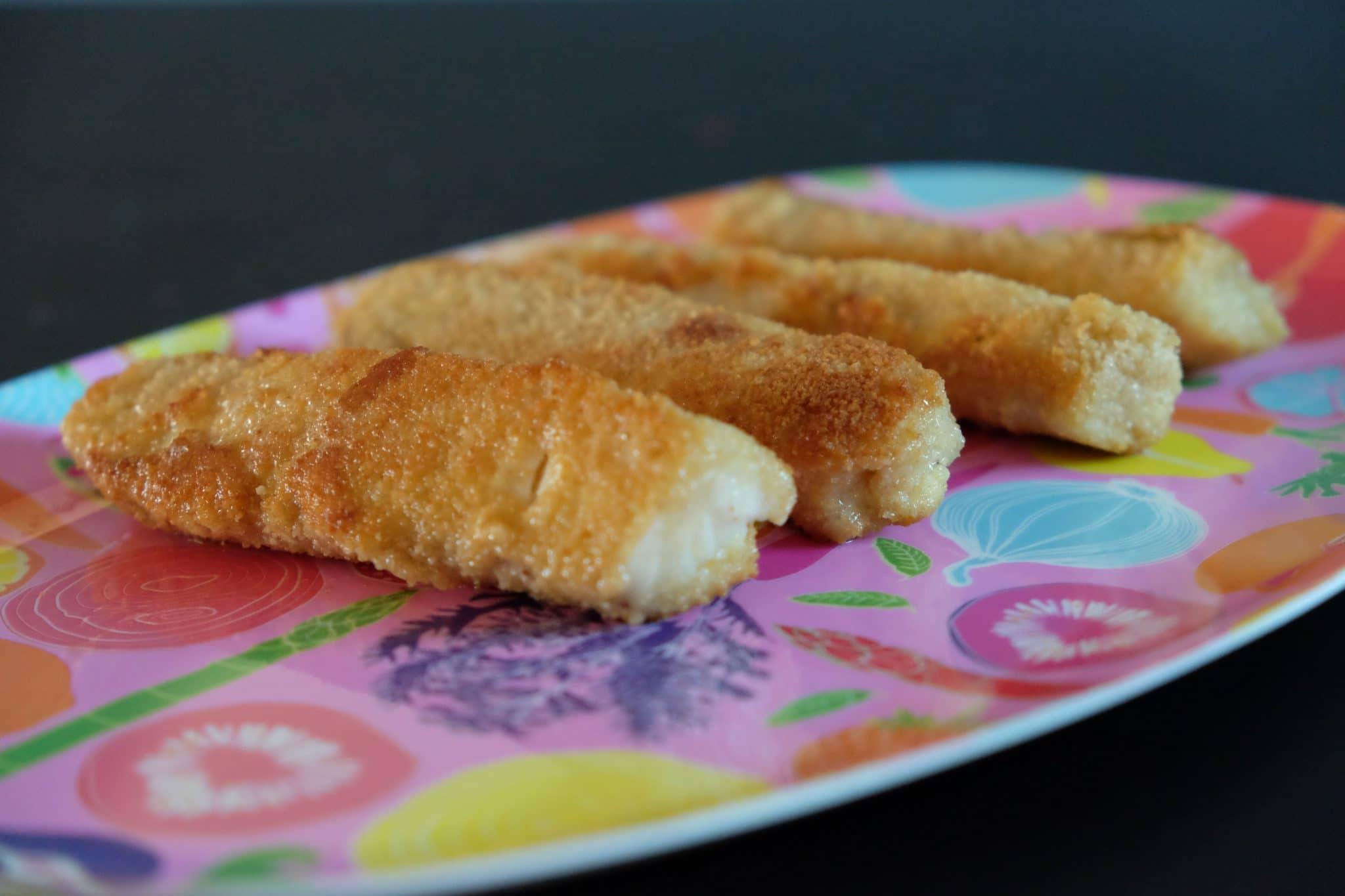 Fish'n chips med ærtemos
