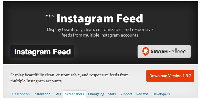 instagram, feed, plugin, favorit