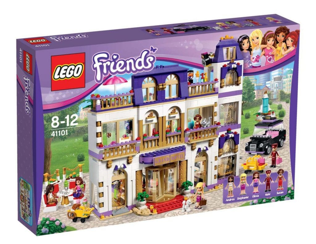 lego friends heartlake hotel, lauras ønsker