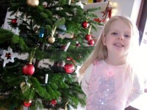 glimt, jul, julen, prinsesse, juletræ
