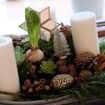 anden søndag, advent, adventskrans, dekoration, juledekoration