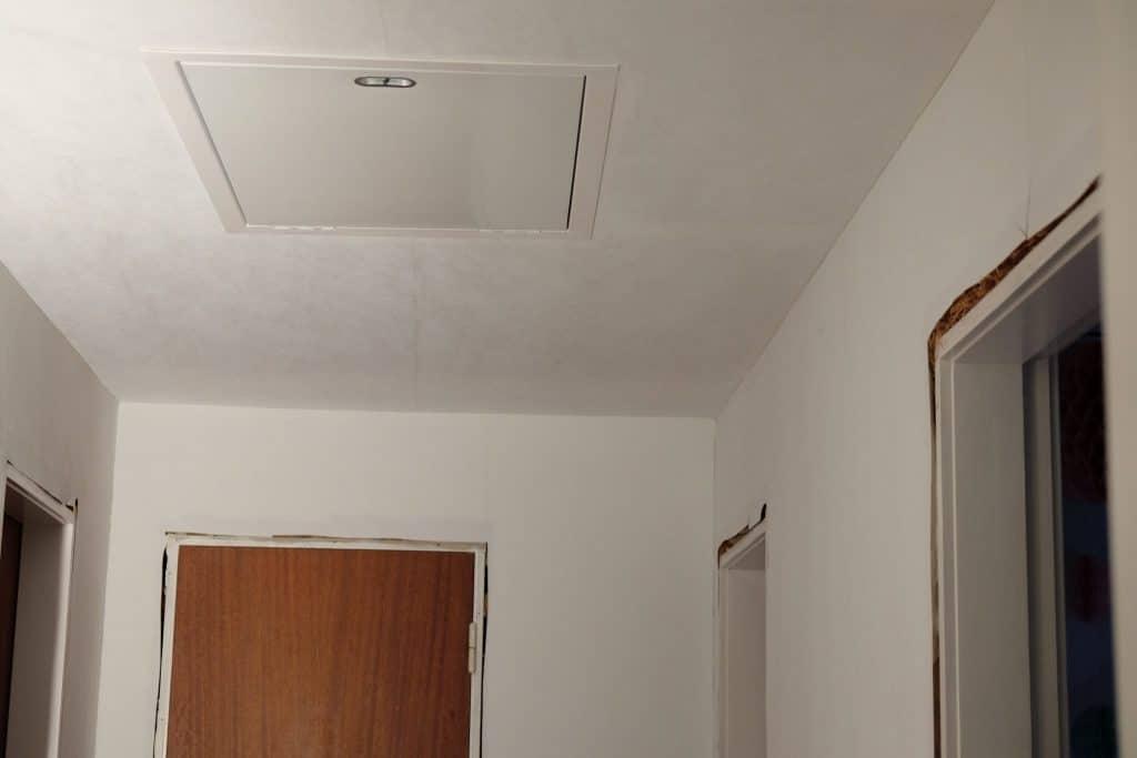 renovering, gangen, gang,