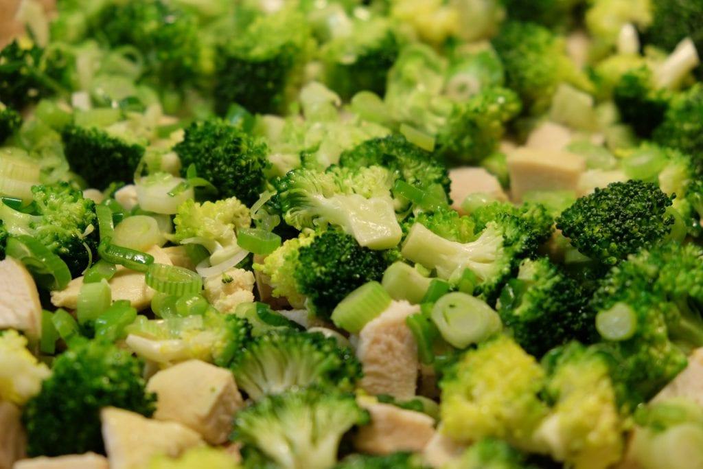 tærte, kylling, broccoli, opskrift, lækkert, velbekomme, dagens middag