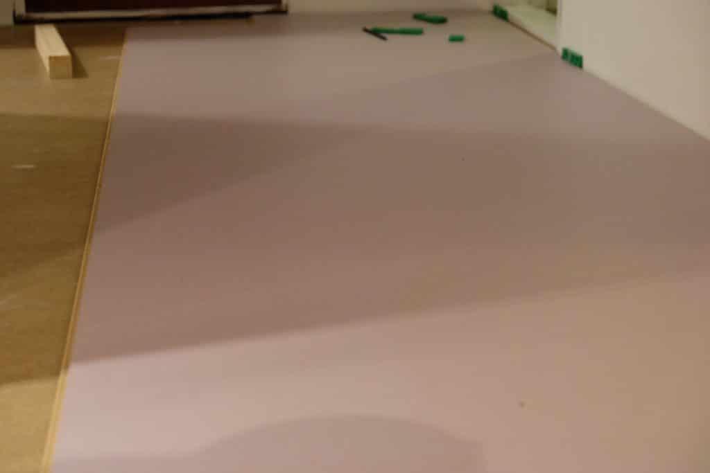 sneak peak, gulv, marmoleum, clickgulv, click, gulv, renovering