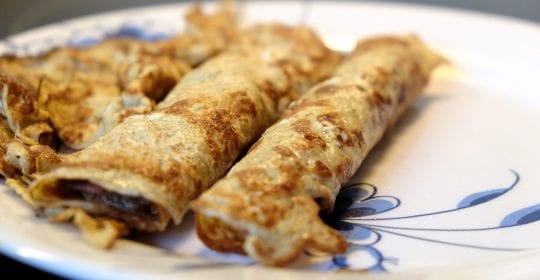 pandekager, uden mel, sunde, nemme, gode, lækre, velbekomme, opskrift