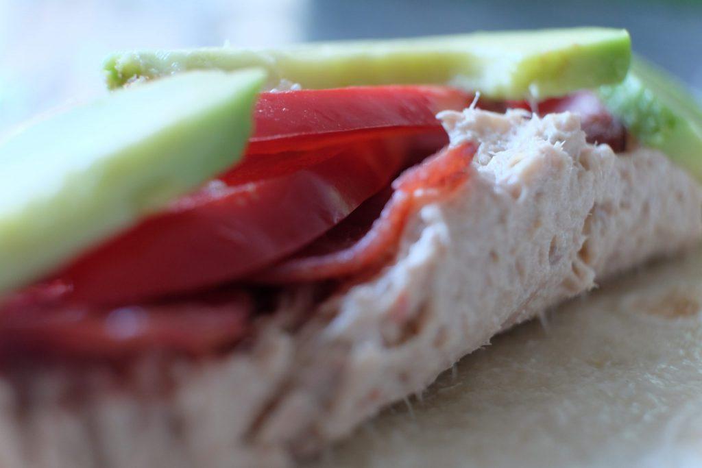 tun, tunsalat, sundt, fisk, opskrift