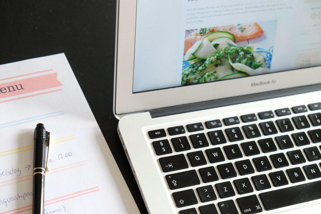 denne uges menu, madplan, aftensmad, opskrift, dagens middag