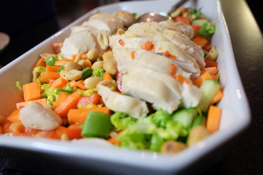 orientalsk kylling, opskrift, sundt, lækkert, nemt