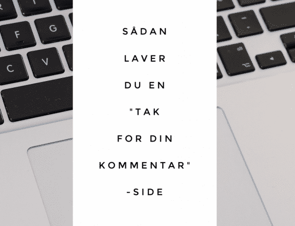 tak for din kommentar, sådan laver du, wordpress.org, how-to, diy, plugin