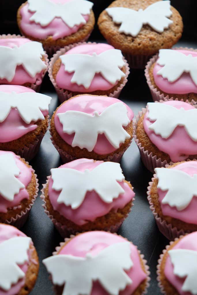 10 års fødselsdagsfest, Laura, fødselsdag, muffin, pink, tema