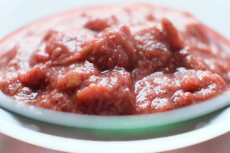 Rabarberkompot - sund opskrift uden sukker,