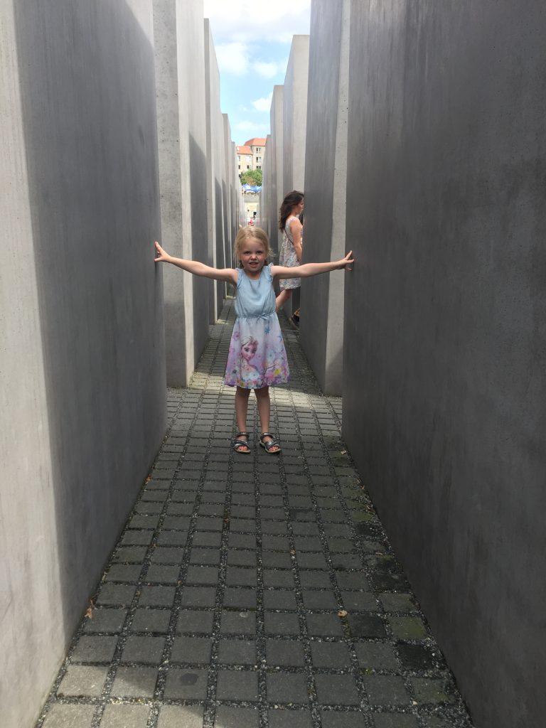 ferie, Berlin, holocaust, mindemærke