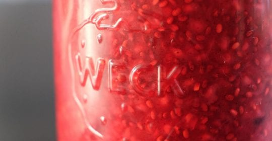 hindbærmarmelade, sund, sundt, opskrift