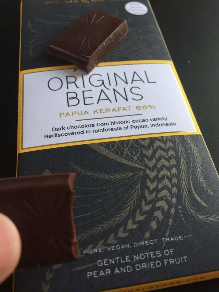 original beans, chokolade