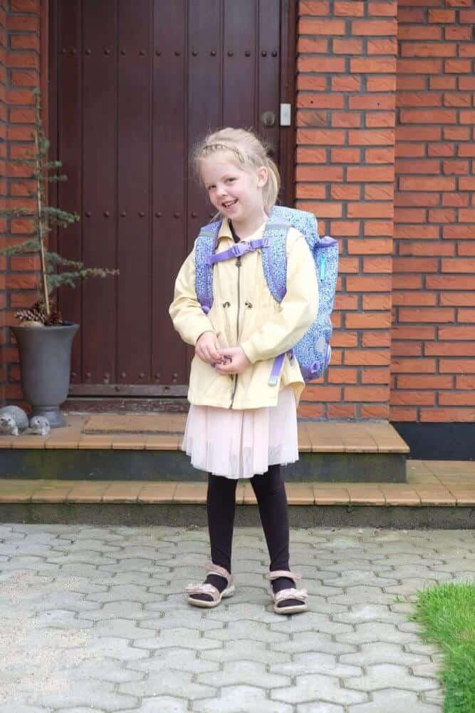 Første Skoledag – 0.A