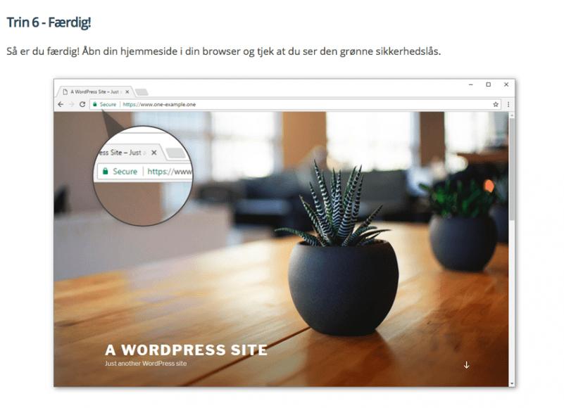 6 nemme trin til en sikker blog med https - sådan gør du