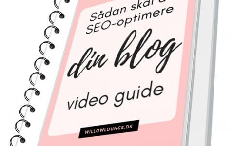 Sådan skal du SEO-optimere dine blogindlæg, videoguide