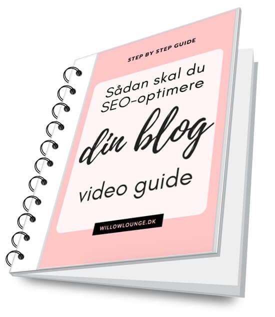 Sådan skal du SEO-optimere dine blogindlæg, videoguide, de 5 ting