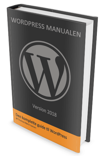 wordpress manual, wordpress manualen